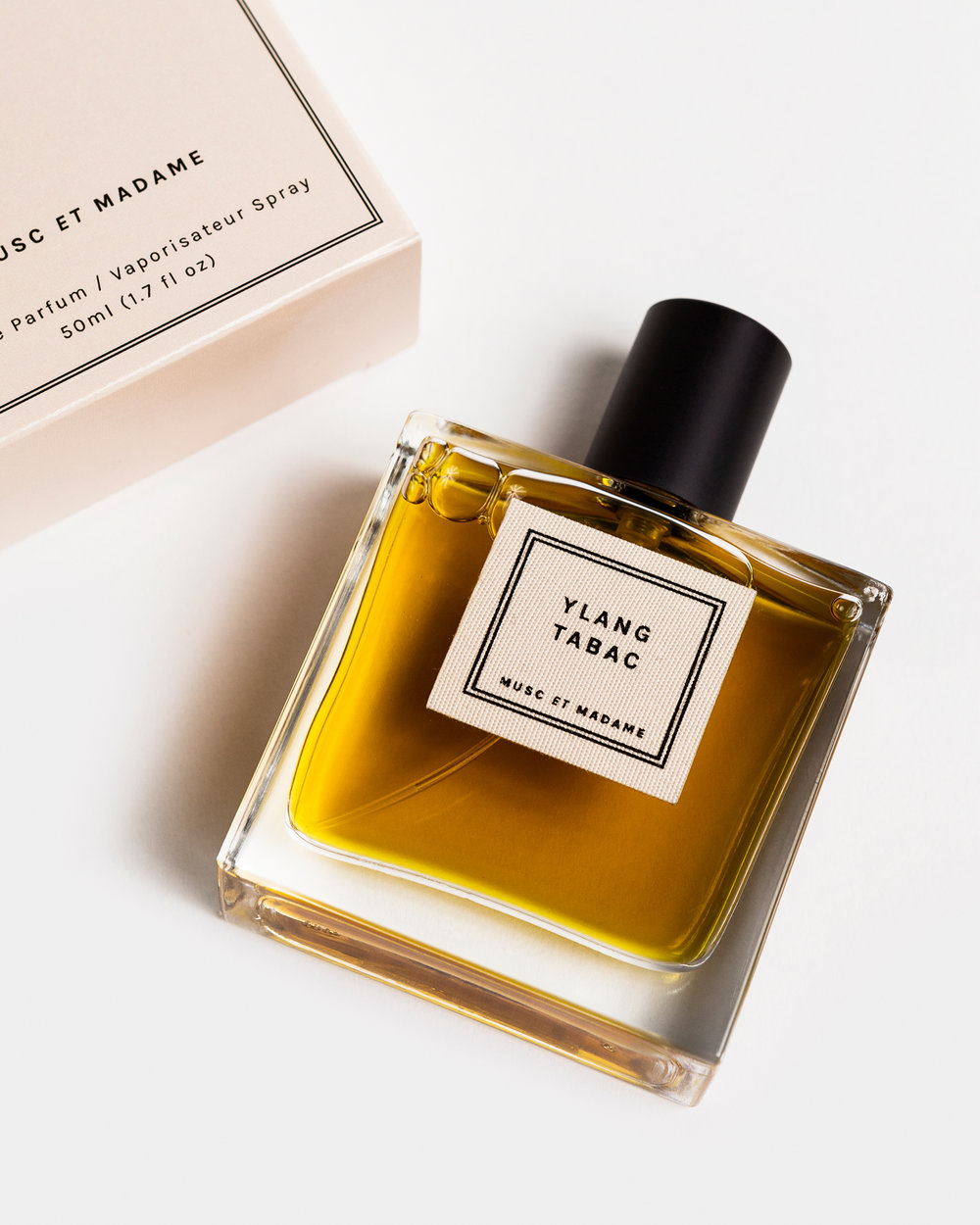 Musc et Madame 'Ylang Tabac' eau de parfum,  $110 (via Orris)