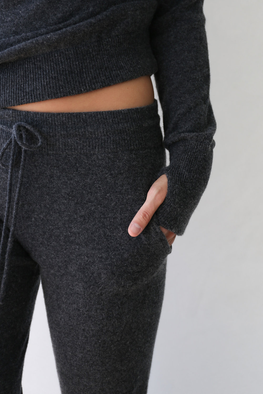 Lunya washable cashmere jogger, $198