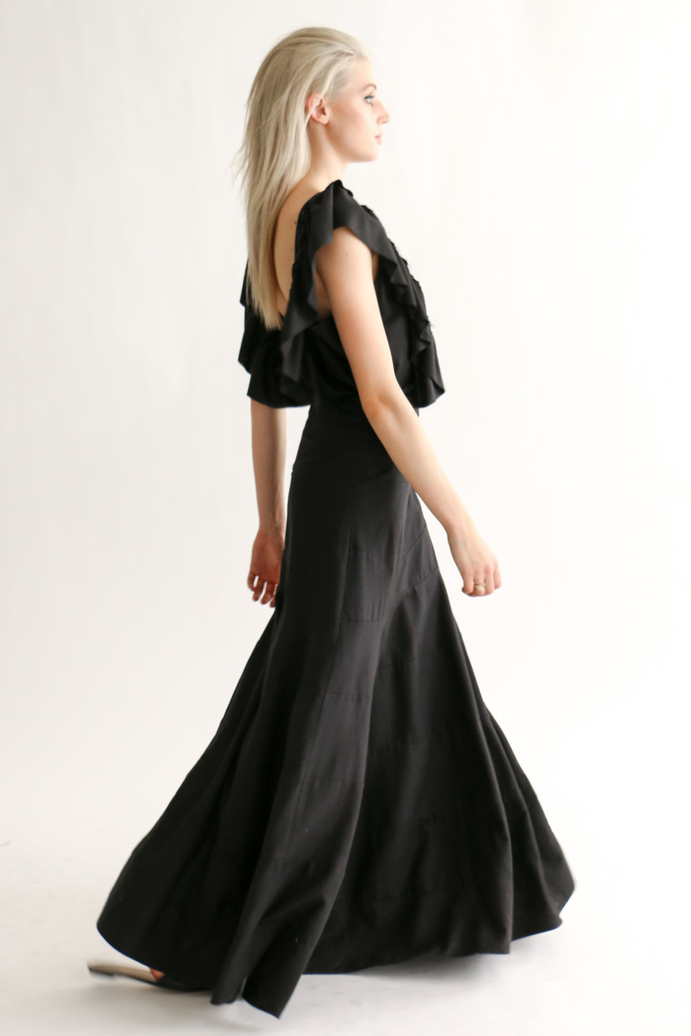 Heidi Merrick 'Olivera' dress in Black, $671