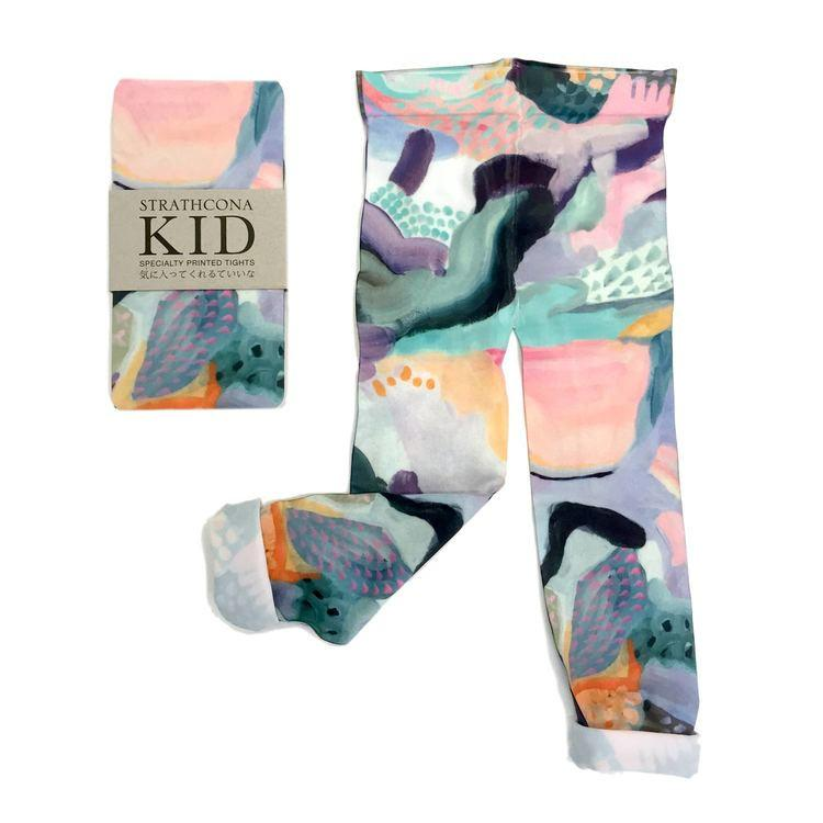 Strathcona kids leggings in Painted Dreamscape,  $42
