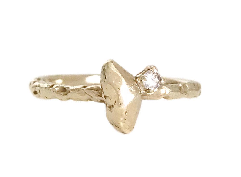 Courtney Bensik, 'Zincite Star' ring,  $400