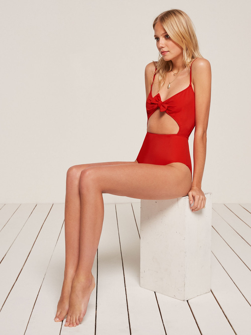 Tropicana One Piece in Cherry,  $128