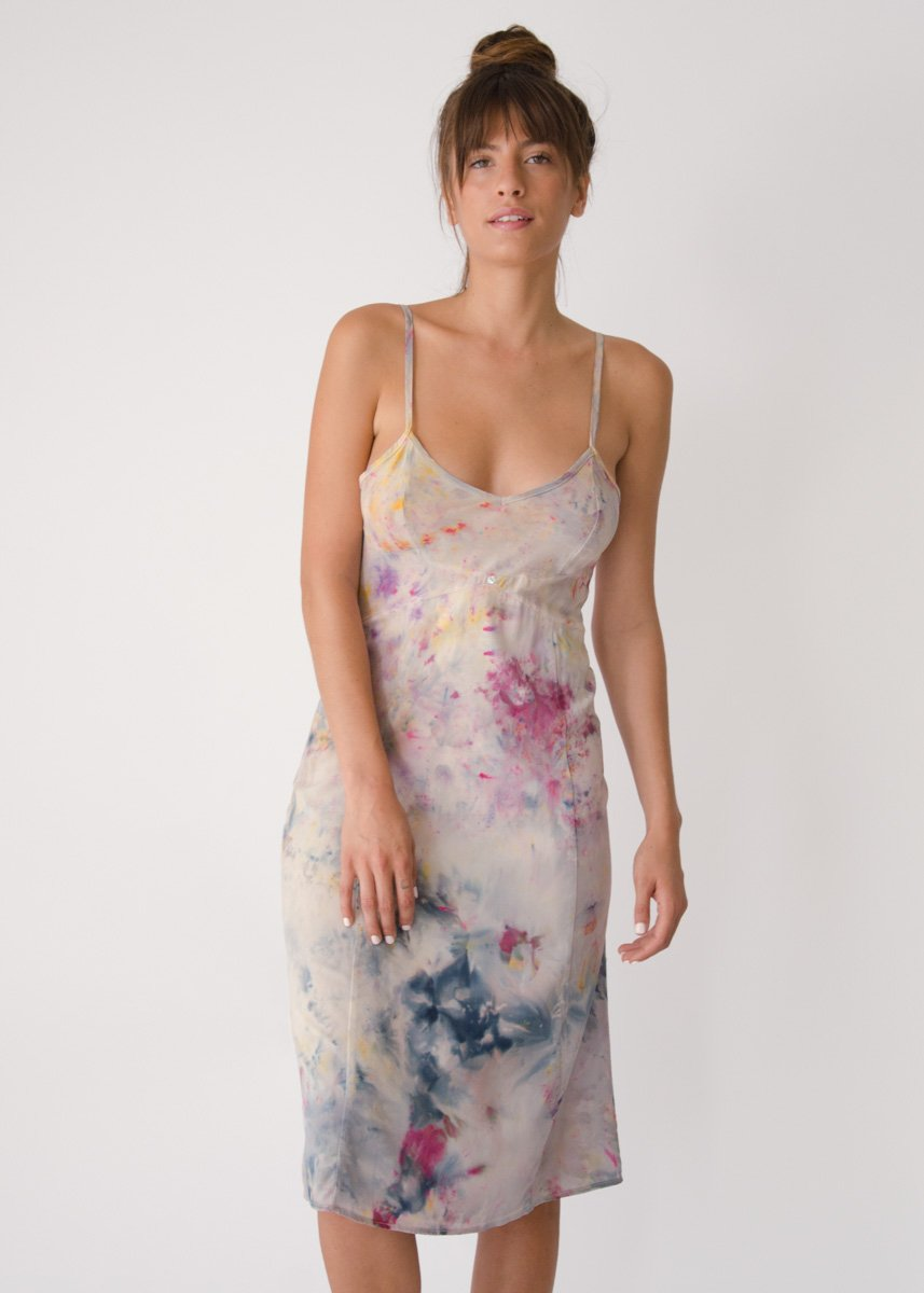 Botanica Workshop 'Vetiver' slip dress,  $299