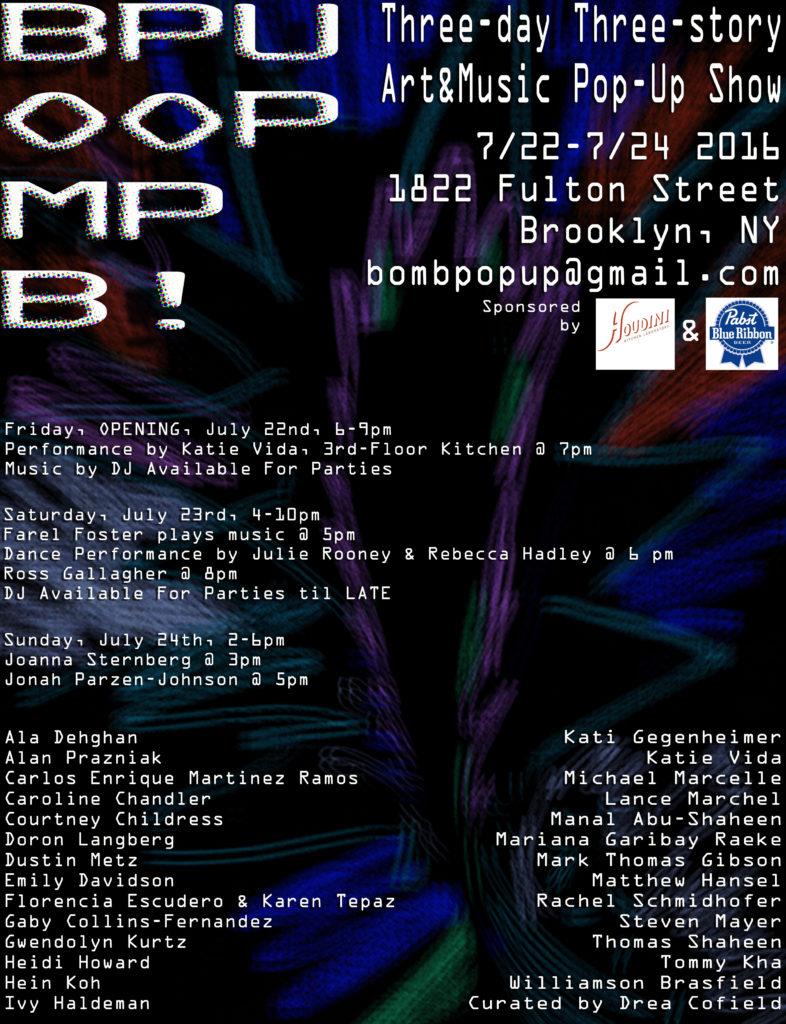Saturday 4 To 10 Sunday 2 6 1822 Fulton Street Brooklyn NY