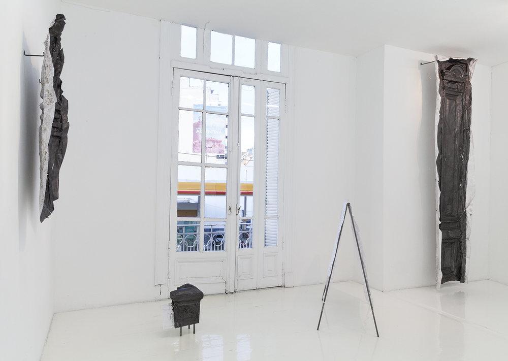 Primera muestra individual de Claudia Cortínez en HILO Galería, con la curaduría invitada de Leandro Martinez Depietri