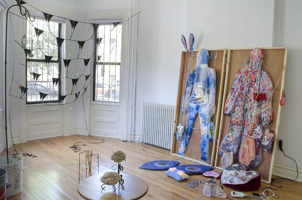 Installation by Sessa Englund and Florencia Escudero