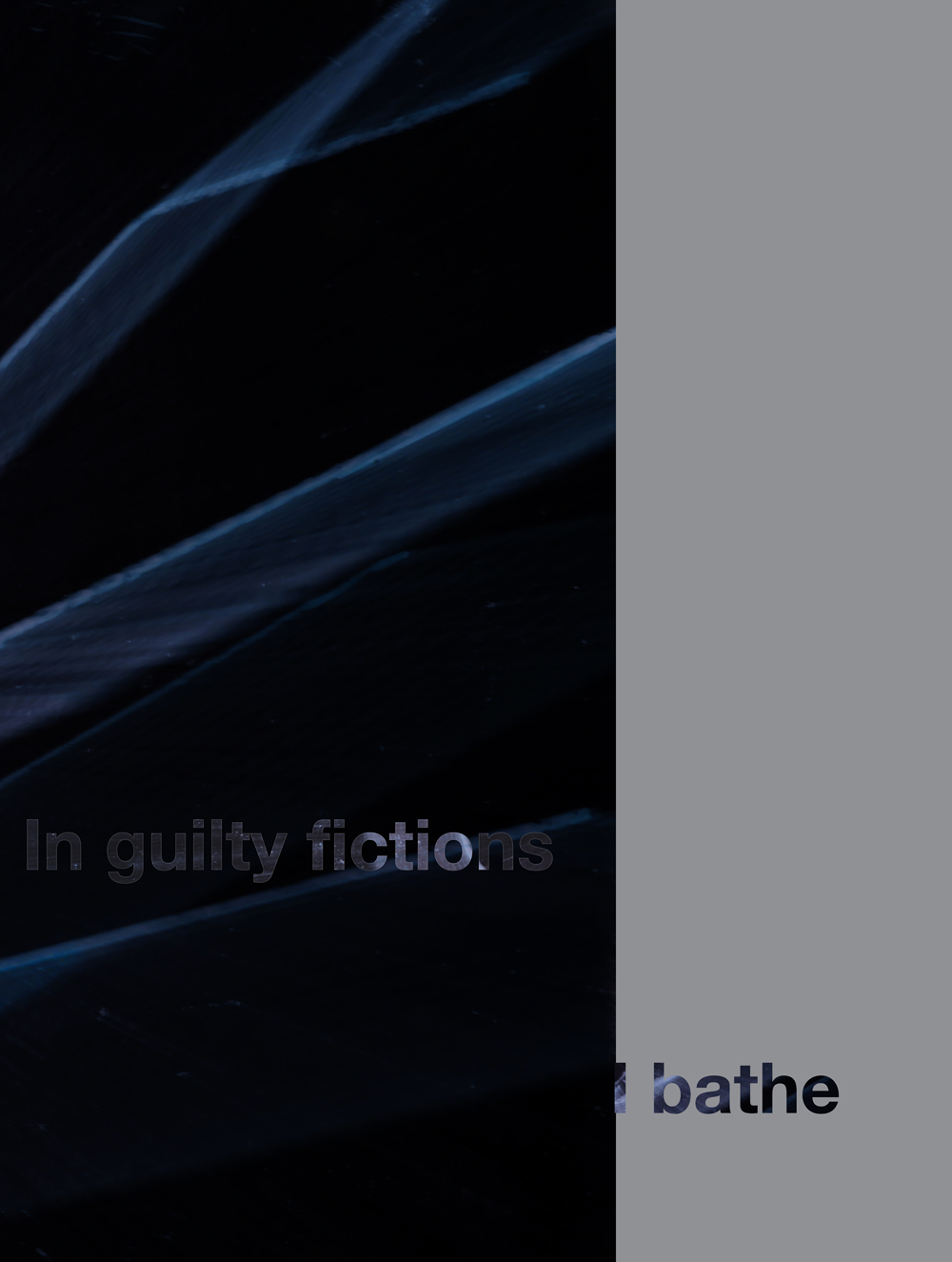 In guilty fictions. 2017 Digital Print on German Hahnemuhle paper 15.75 x 26.62 in