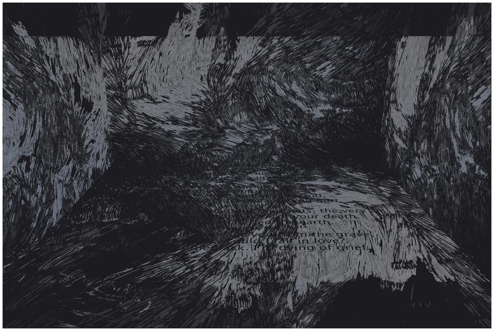 Arseny Tarkovsky's poem 2017 Digital Print on German Hahnemuhle paper 15.75 x 26.62 in