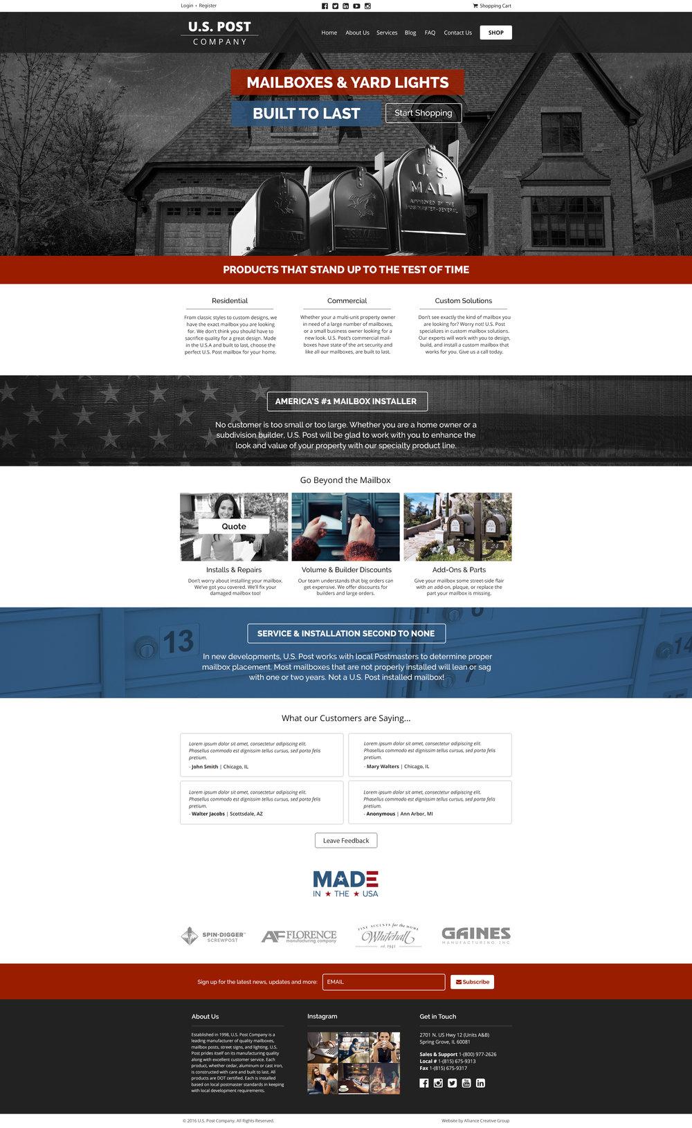 U.S. Post Co.