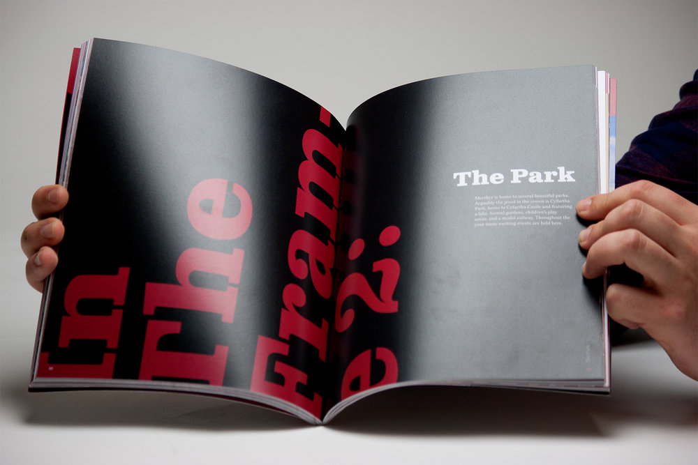 Celebrate Merthyr - Magazine Design