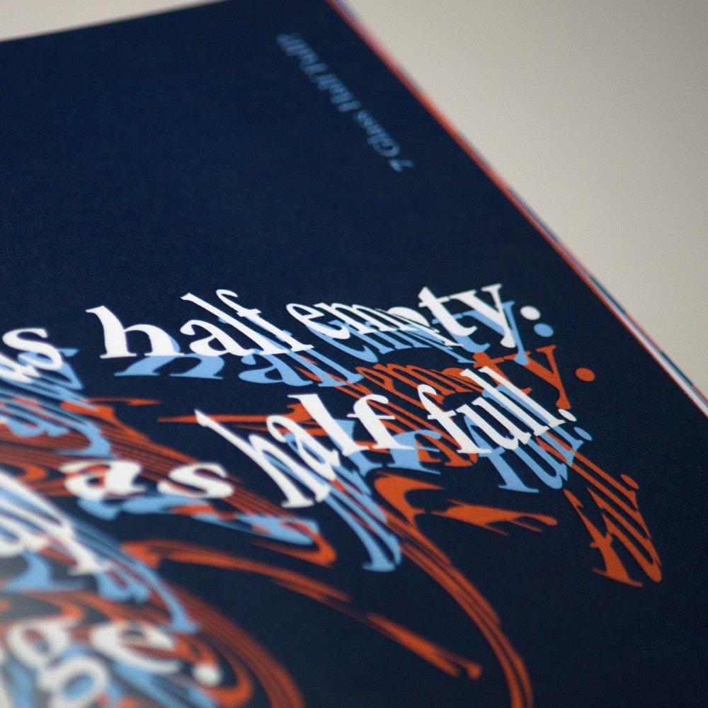 Perception - Booklet Design