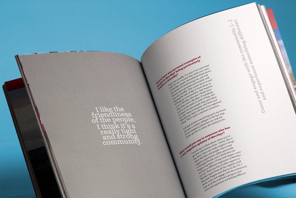 Magazine design, photography,
