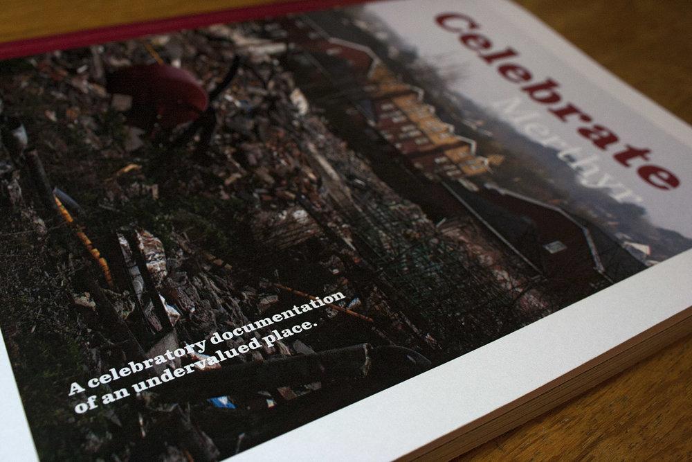 Merthyr Tydfil graphic design, magazine design,