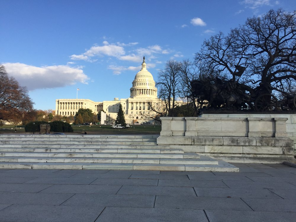 The Capitol Building, Washington DC. Image by Rachel Hammersley