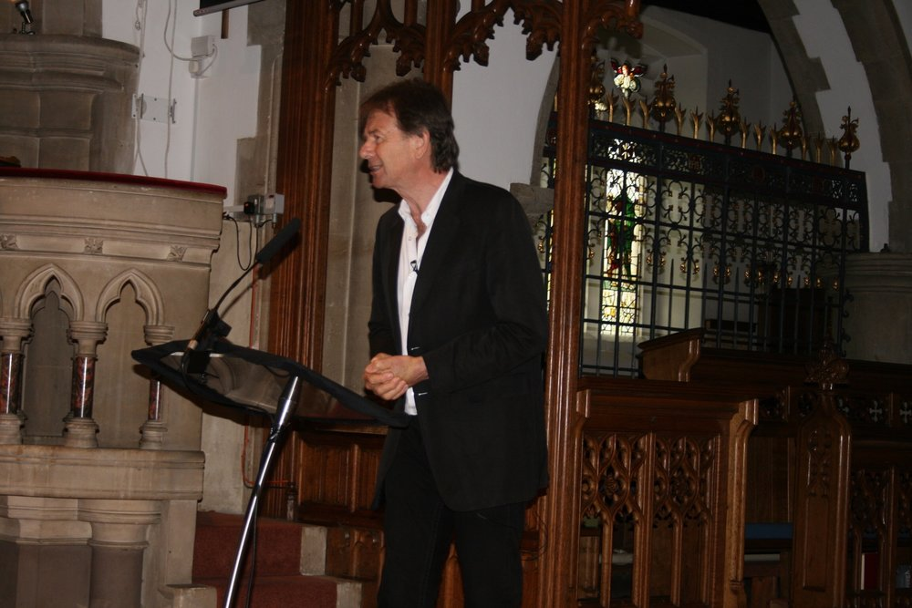 Michael Wood, Brave Community, Cobham, 21 May 2016. Image by Rachel Hammersley.