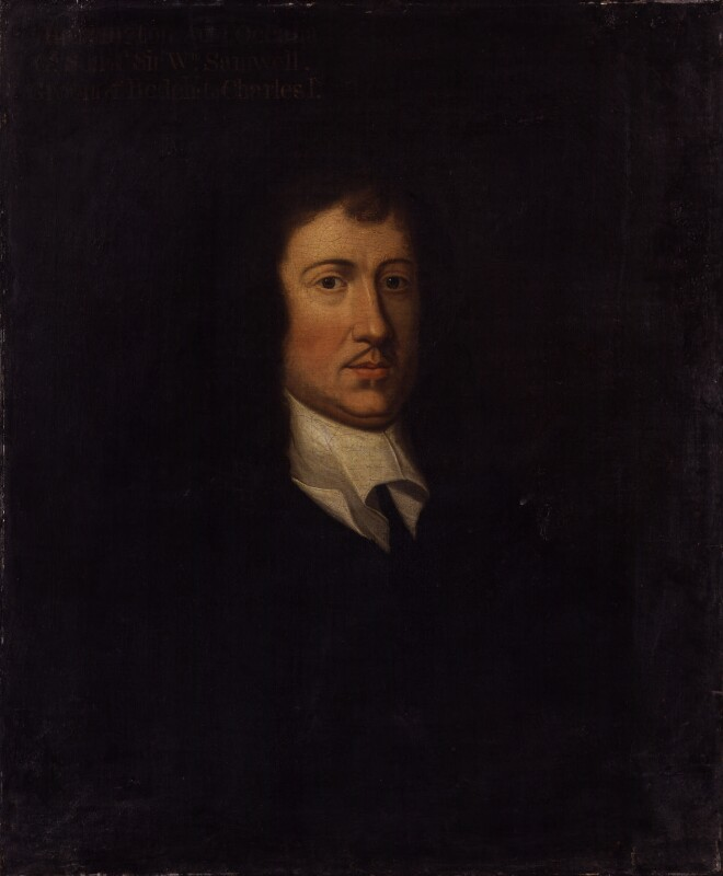 James Harrington after Sir Peter Lely, based on a work of c. 1658. National Portrait Gallery, NPG41090. Reproduced under the National Portrait Gallery's Creative Commons Licence.