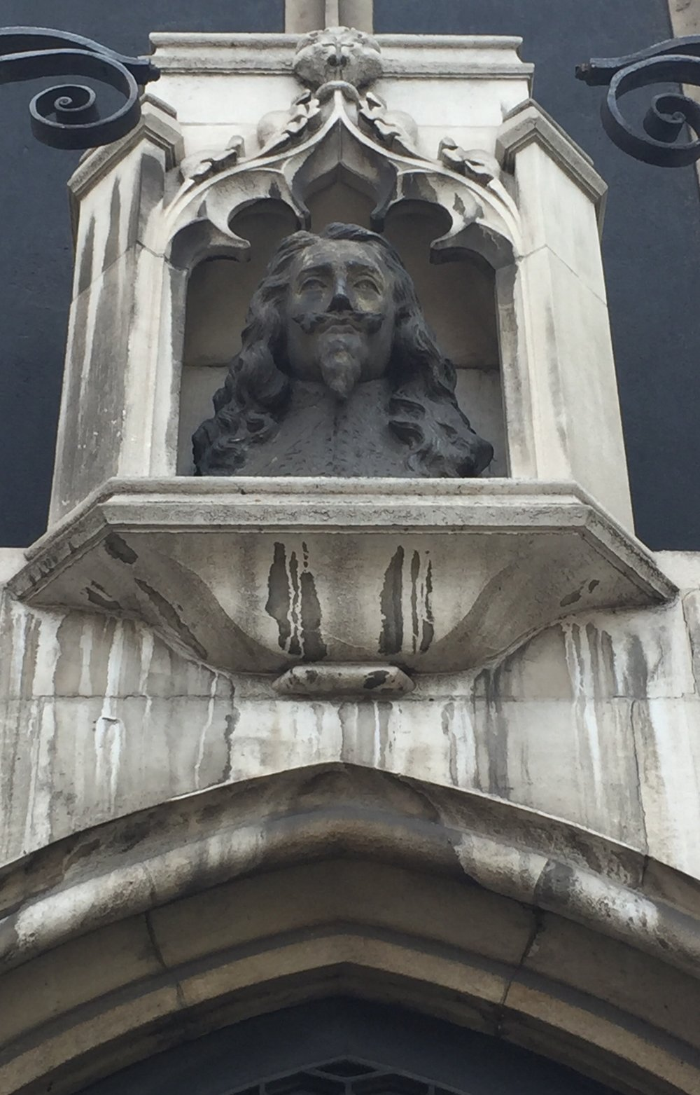 Statue of Charles I, Westminster. Image by Rachel Hammersley.