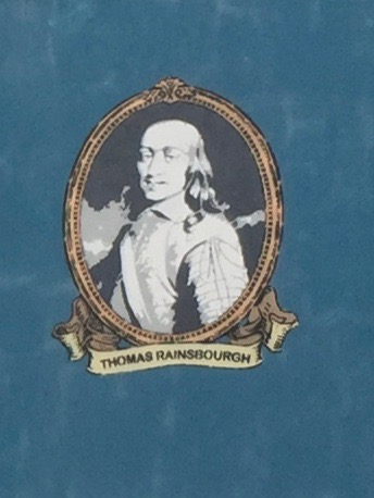 Image of Thomas Rainsborough from a mural in the Ouseburn Valley, Newcastle. Image by Rachel Hammersley.