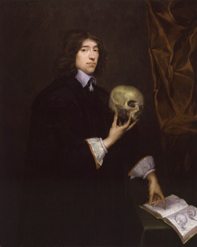 Sir William Petty by Isaac Fuller, oil on canvas, c.1651. Reproduced under a creative commons license from the National Portrait Gallery, NPG 2924.