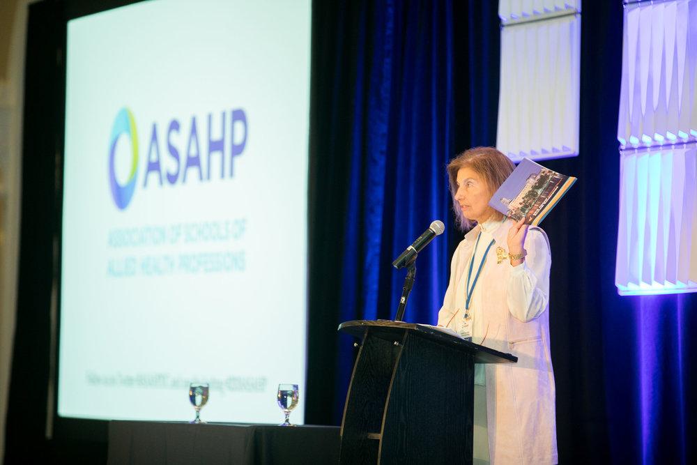 ASAHP President Susan Hanrahan, Ph.D.