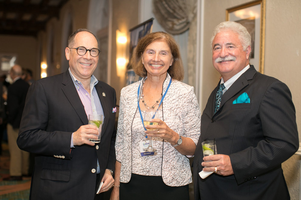 Dr. Brian Shulman, ASAHP President Dr. Susan Hanrahan, Dr. Gregory Frazer