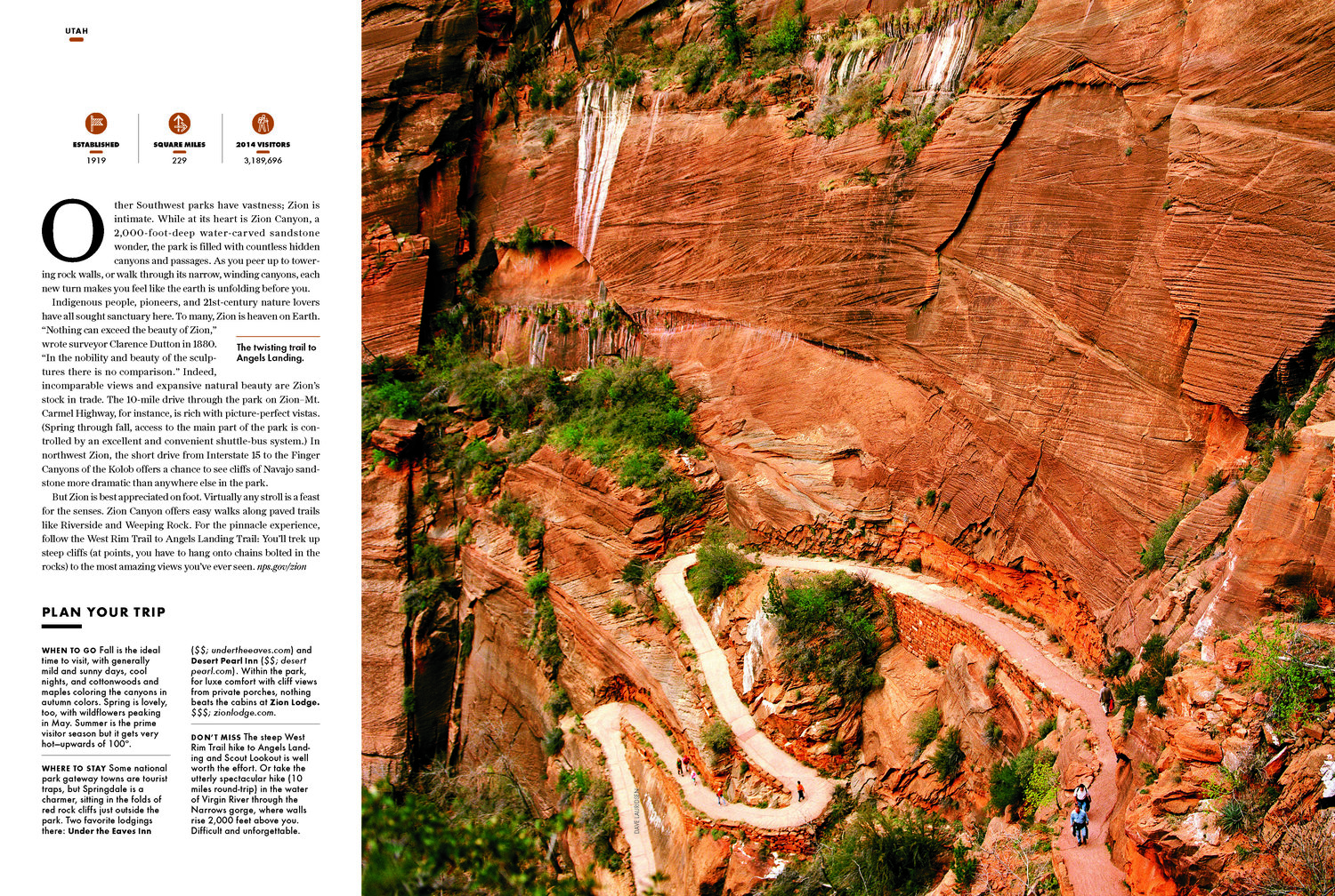 National Parks Magazine — JHM DESIGN