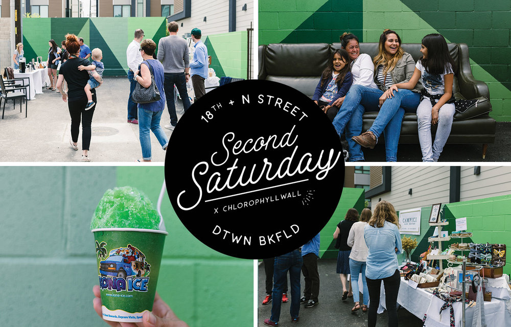 Second Saturday x #chlorophyllwallPop-Up Shop - Event CoordinationCreative Design | Branding + CollateralLearn More on the Blog