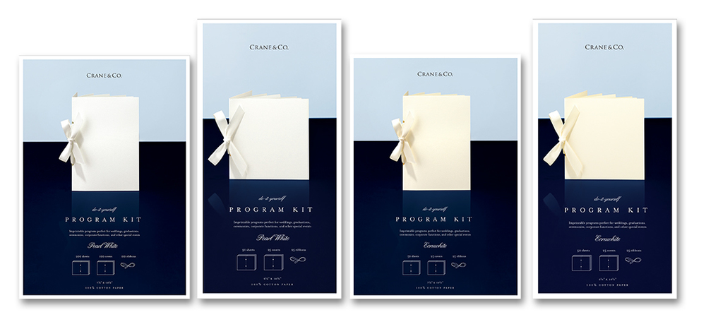 Crane & Co. boxed program kits  |  Art Direction & Design