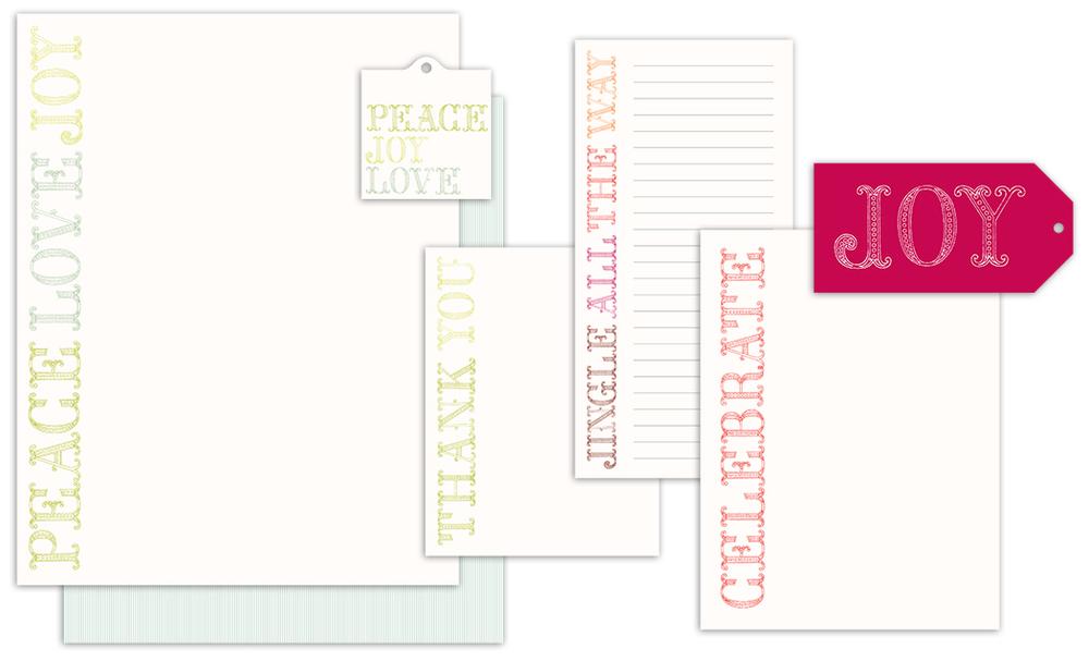 "Crane & Co. boxed stationery, ""Chloe B."""