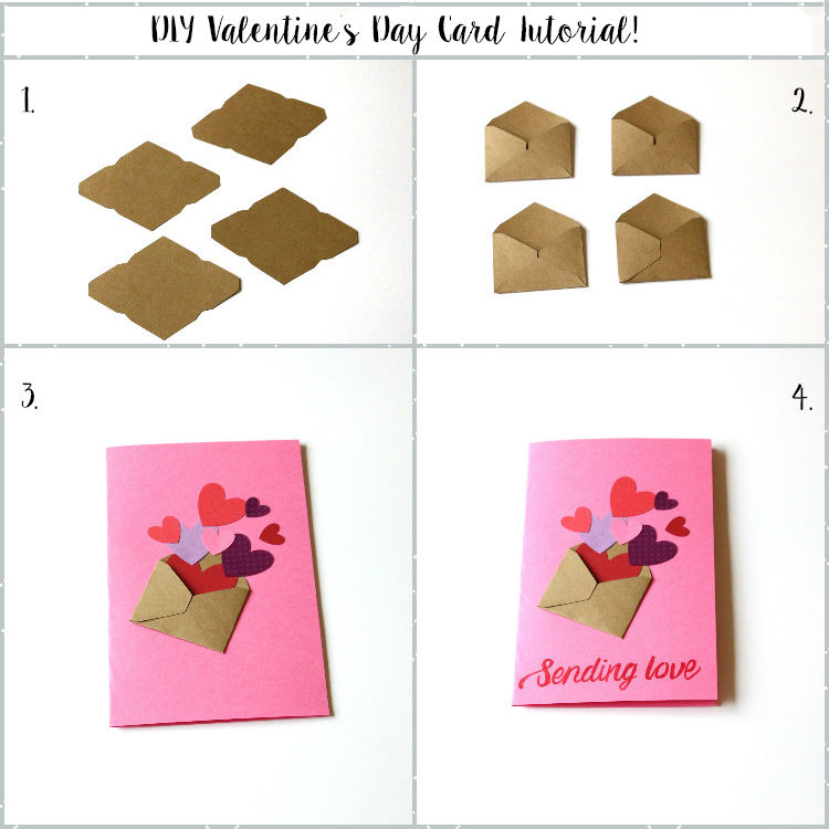 Diy Handmade Valentine S Day Cards The Pig Peacock