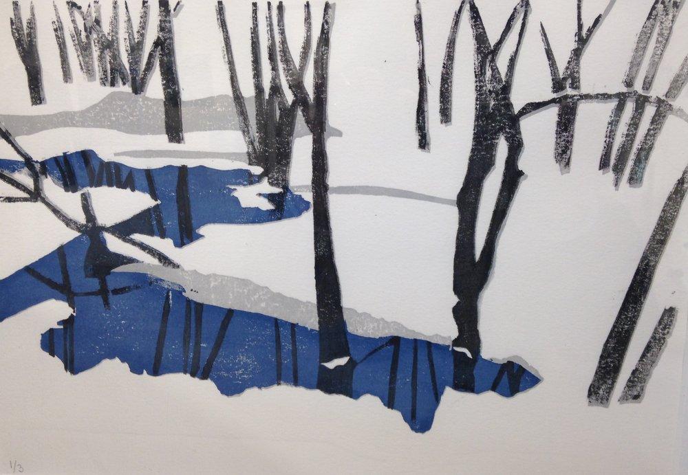 Lanesville winter by Frank Curcio