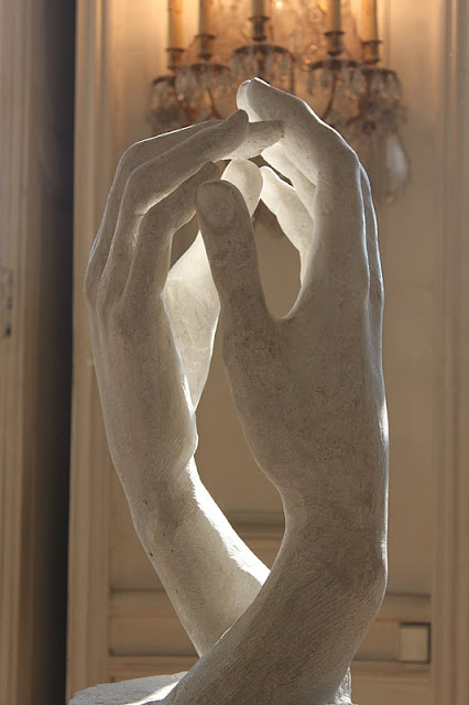 Artist: Auguste Rodin - Cathedral Hands | Musee de Rodin, Paris