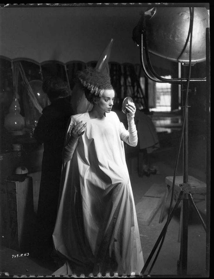 Photography: Unknown | Bride of Frankenstein, Elsa Lanchester