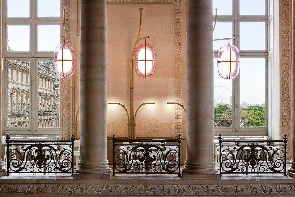 Photography: Michael Giesbrecht | Café Mollien, Louvre by Mathieu Lehanneur