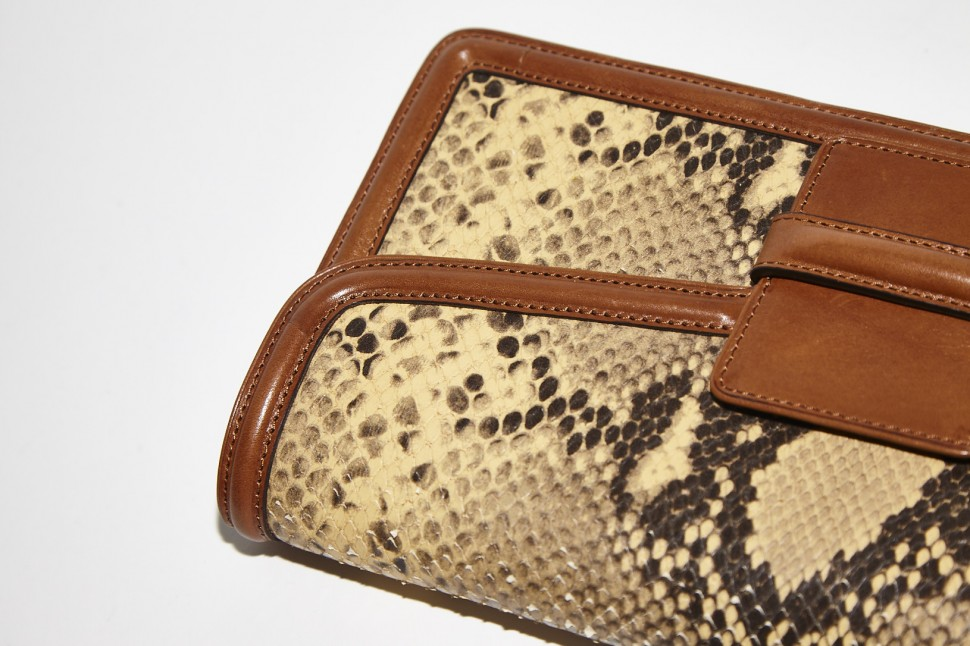 Photography: Joseph Molines | Snake Skin Bag by Dries Van Noten