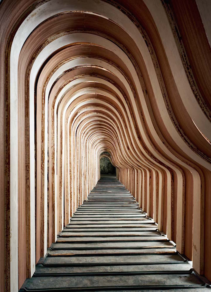 Photography: Unknown | Hallway in Steinway Piano Factory