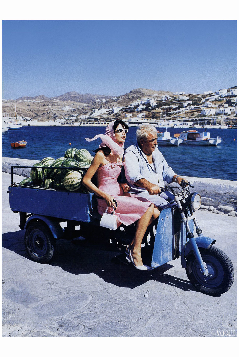 Photography: Ellen Von Unwerth | Greece 1995