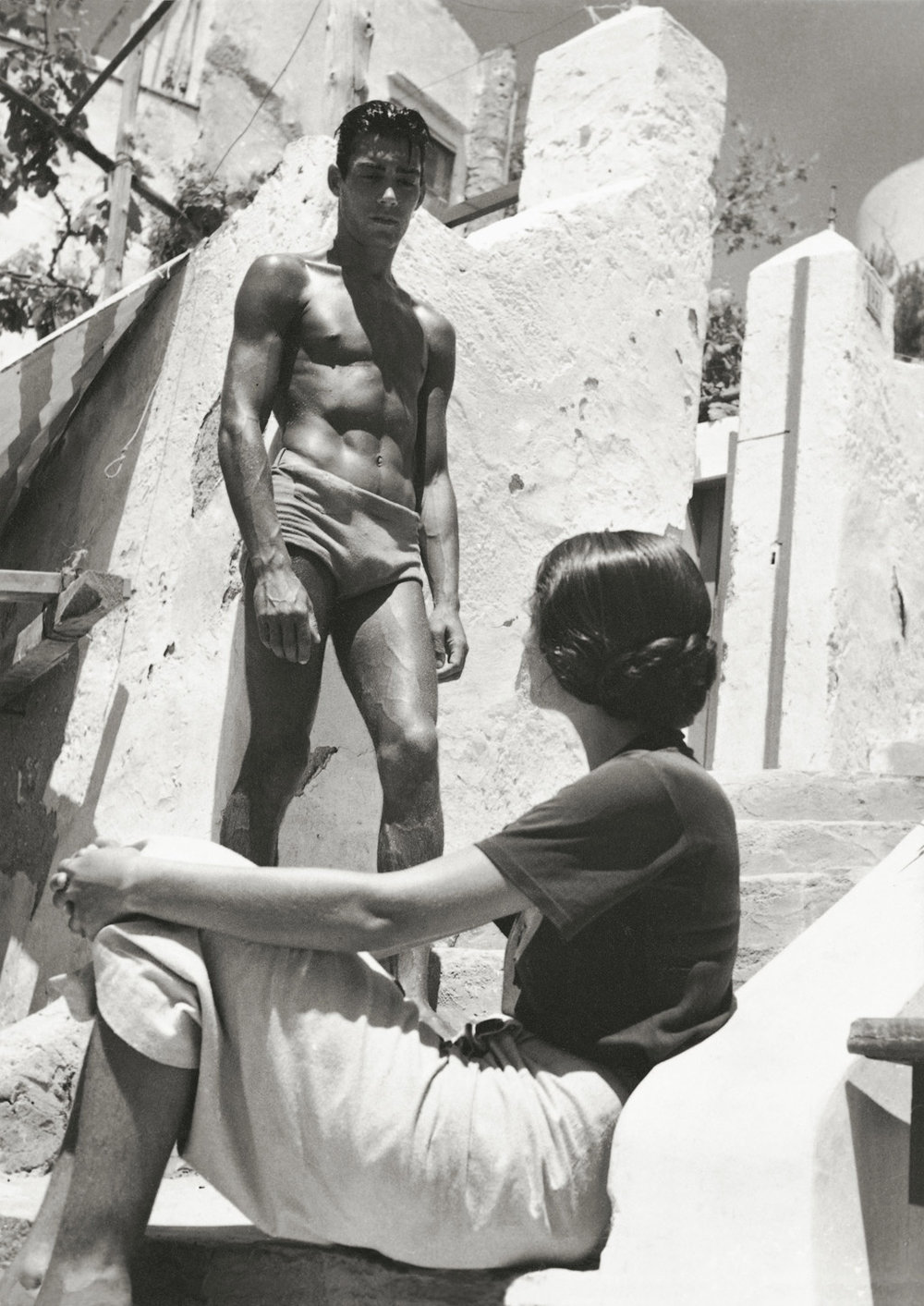 Photography: Herbert List | Flirt in Capri, 1936