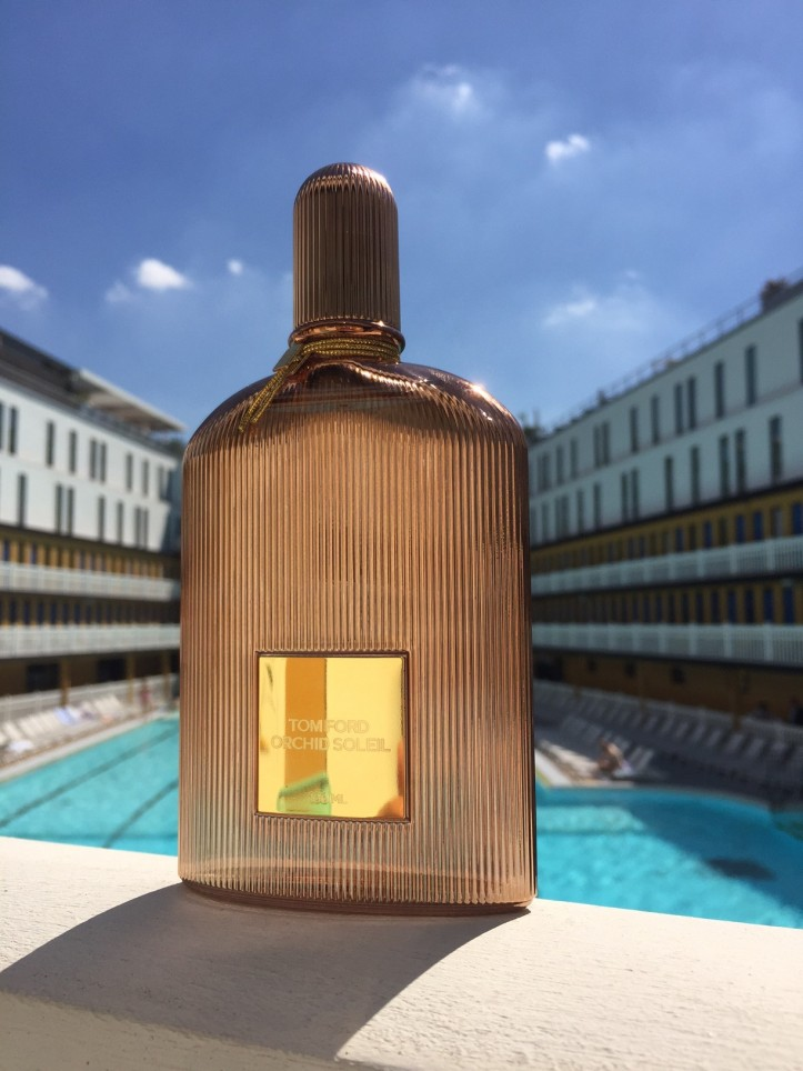 Photography: Shot by Piscine Molitor, Paris | Orchid Soleil Parfum, Tom Ford