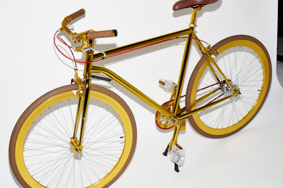 Photography: Joseph Molines | The Golden Bike by Martone Cycling