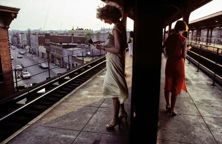 Photography: Bruce Davidson | NYC, 1980's