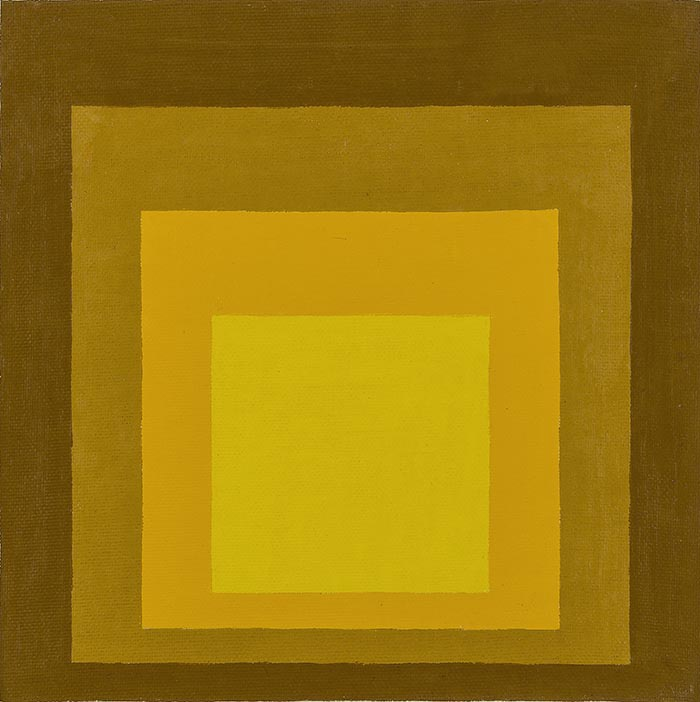Artist: Joseph Albers, The Study of Homage to the Square, 1961