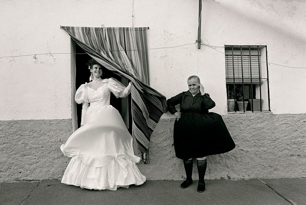 Photography: Christina Garcia | Wedding, 1991. Spain