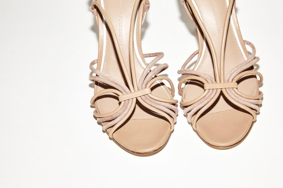 Photography: Joseph Molines |Retro Heels by Diane Von Furstenberg