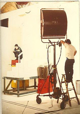 Photography:Gary Beydler | Tom Waits, Studio Shots | A Stolen Moment