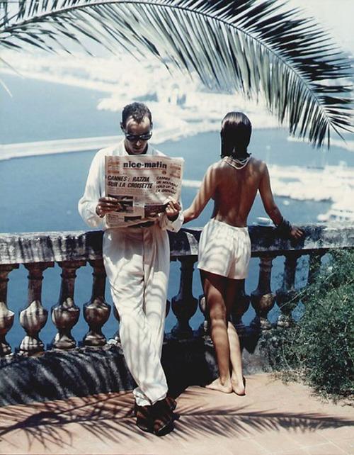 Photography: Helmut Newton | Nice, 1984