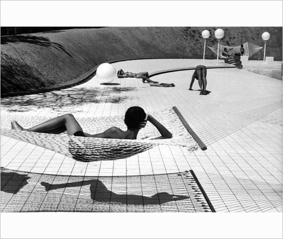 France, 1976 Photography Martine Frank Pool Design Alain Capeilleres.jpg