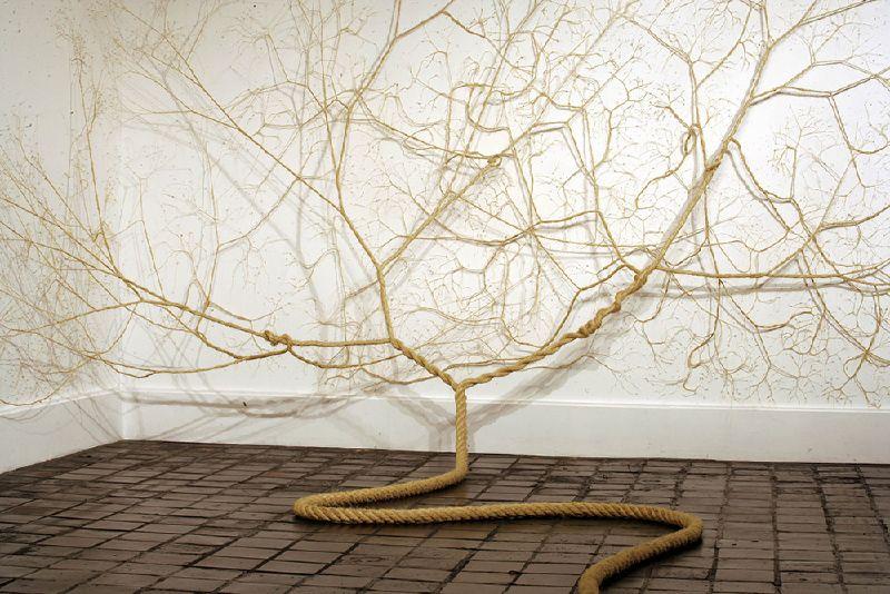 Artists: Janiana Mello & Daniel Landini | Untwisted Rope Trees | Brazil