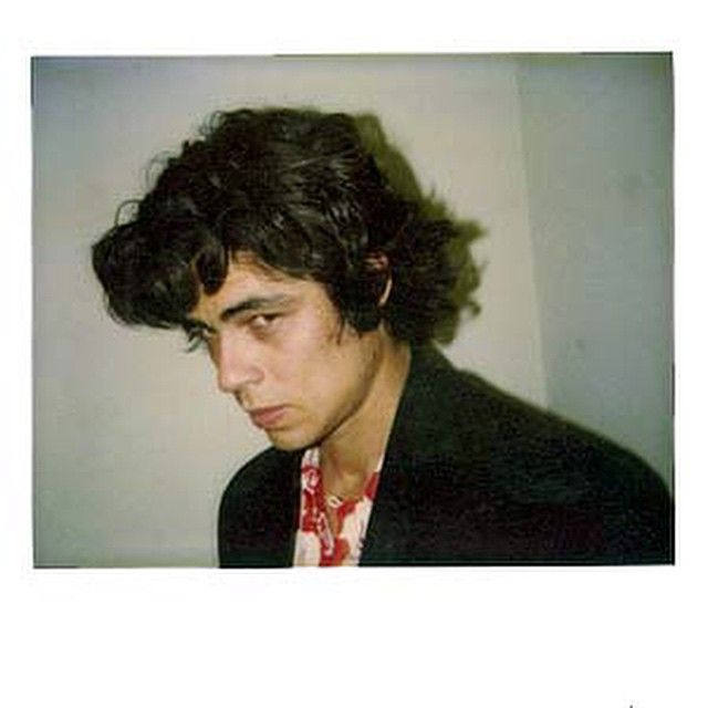 Photography: Unknown | Benicio del Toro, 1980's | Headshot