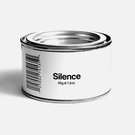 Dear society, - I think that most of us could use a can of this. Please be thoughtful when choosing to participate in discussions and dialogue. There is nothing worse then talk for the sake of talk, it is nonessential pollution.Sincerely,Shhhhh....